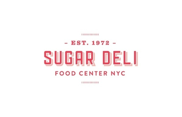 Sugar Deli Food Center #design #sugar #food #brand #logo