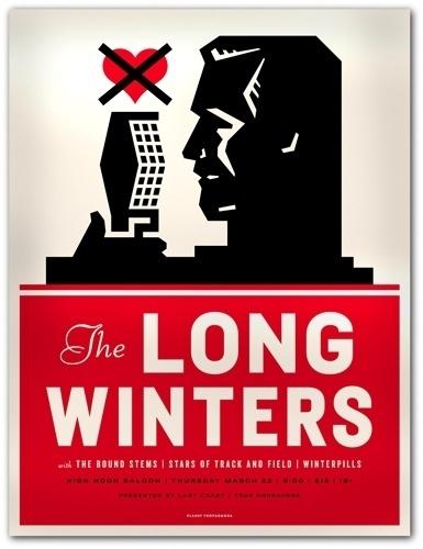 The Long Winters : Mike Krol #mike #krol #poster