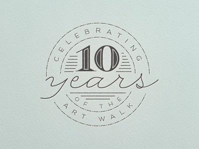 10 Years #badge #script