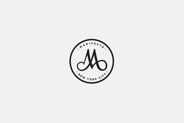Manifesto NYC Logo #branding #hightide #hightidenyc #seal #identity #hightidecreative #logo #wordmark
