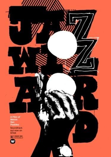 Print-Process / Product / Jazz Wizard #jazz #heath #typography #poster #killen #wizard