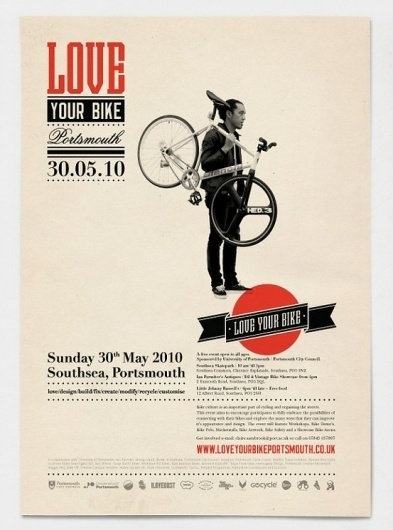 Posters I Want / . #design #vintage #poster #graphic #bike #bicycle