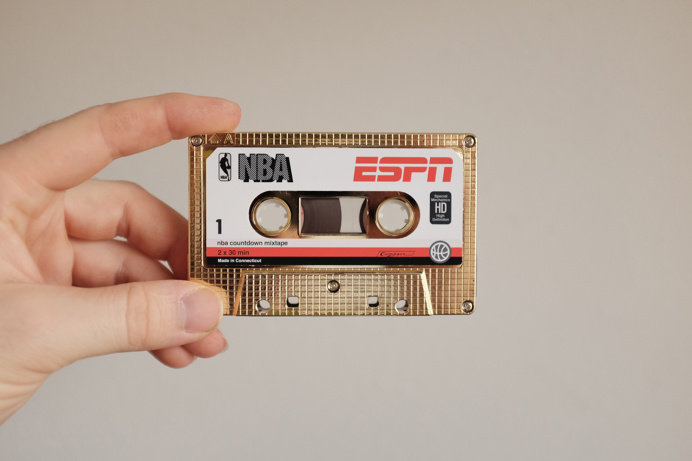 espn nba mix tape cassette