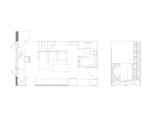 Apartment Wu / Xinyi Dist., Taipei, Taiwan. / 36sqm #interior #small #design #space #taiwan