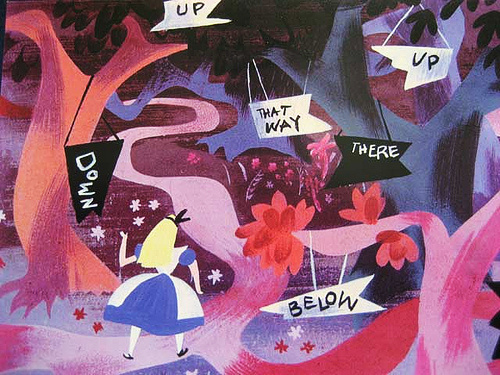 concept art by Mary Blair #mary #in #alice #illustration #disney #blair #wonderland