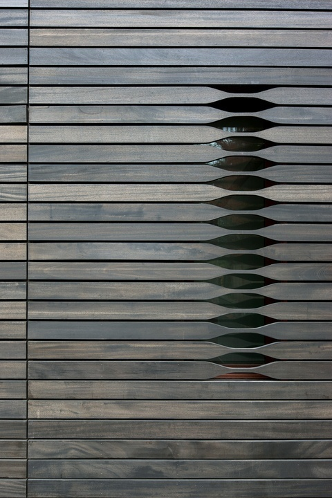 vineet kaur #wood #architecture #screens