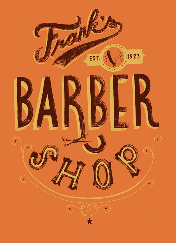 Barbershop2 #lettering #texture