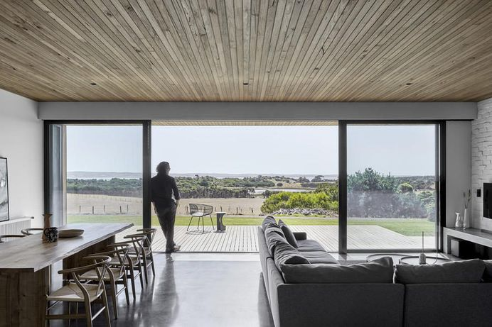 Modern Timber-Clad Home Inspired by Traditional Barn: Two Pavilions 2