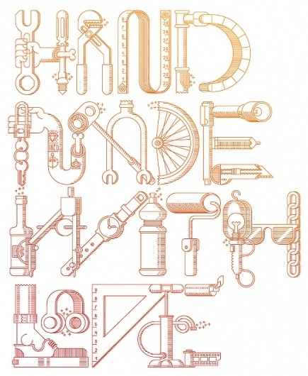 Hand Made With Love on the Behance Network #fix #bike #poster