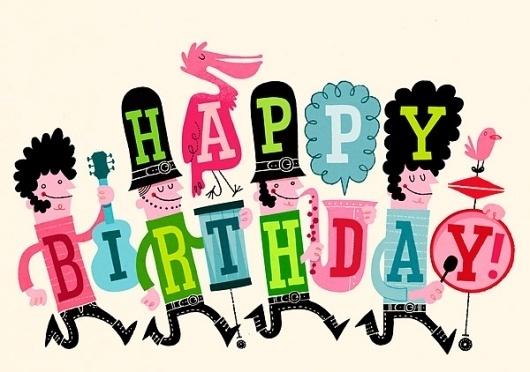 Esther Aarts » Happy Birthday! #illustration