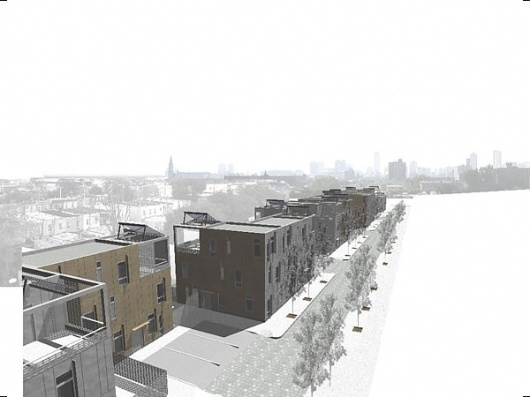 Sheridan Street Housing : Interface Studio Architects #isa #architecture #cg #rendering