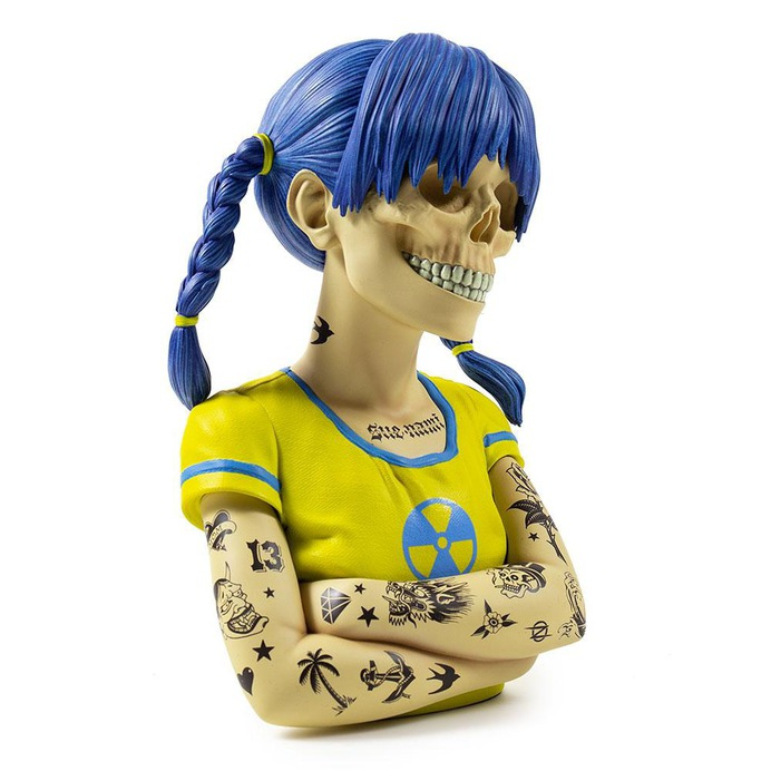 Sue Nami Resin Art Figure (Tattoo Edition) by ZOLTRON - KR Exclusive #Toy #object