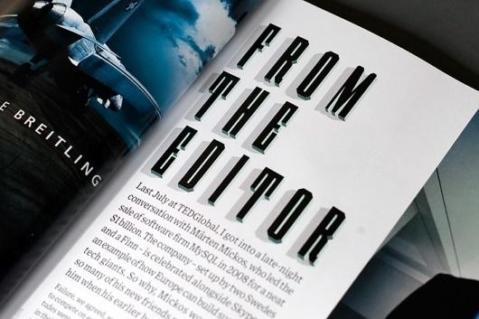 Wired Magazine Typeface « Studio8 Design #studio #typeface #wired #8