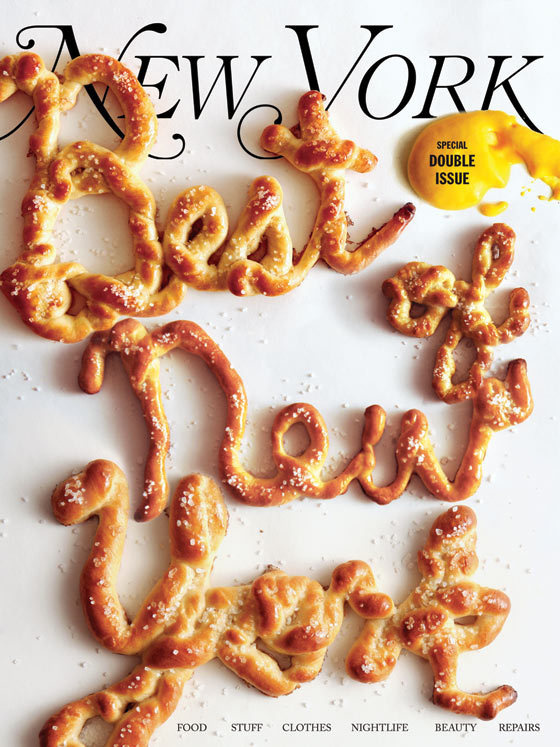Best of NY // Wieden+Kennedy New York #mag #food #cover #poster #typography