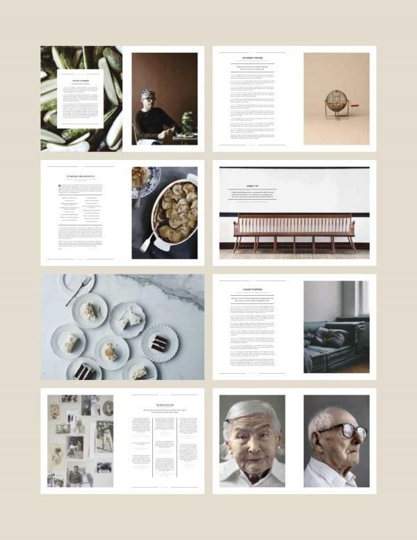 Best Magazine Brochure Kinfolk Layout Images On