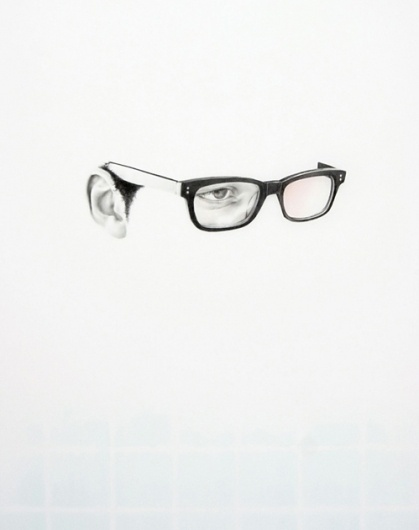 this isn't happiness™ (Langdon Graves), Peteski #glasses #specs #eyes #unfinished #illustration #ear #spectacles