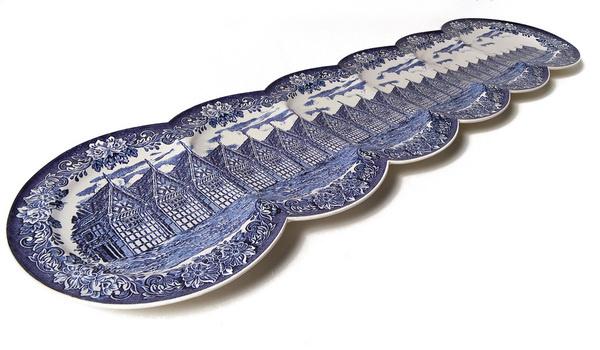 Maxime Ansiau #plate #decorative #porcelain