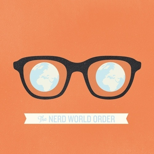 Rodrigo Maia #glasses #nerd #banner #design #graphic #illustration