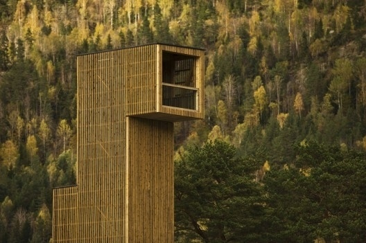 Seljord Watch Tower / Rintala Eggertsson Architects   ArchDaily #architecture