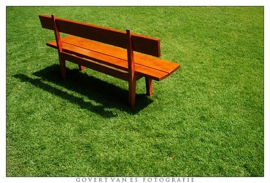 Bench by ~GooFE on deviantART #simple #lines #bench #grass