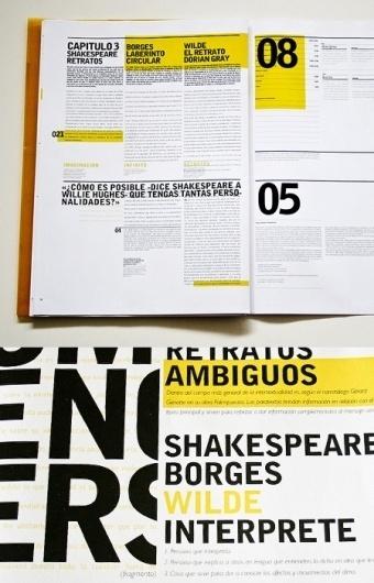 Typography | AisleOne #print #layout