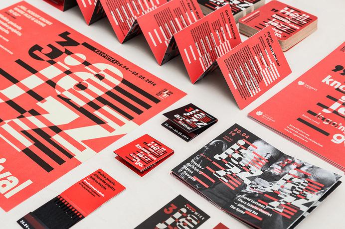 3 Jazz Art Festival Katowice #jazz #print #typography