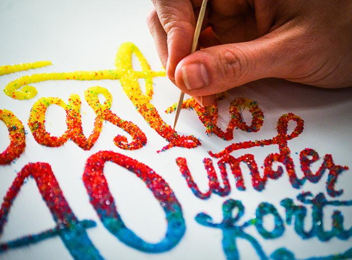 Lettering by @spencerventure   spencerventure.com #lettering #handdrawn #logo #letterforms #penandink #ink #digital