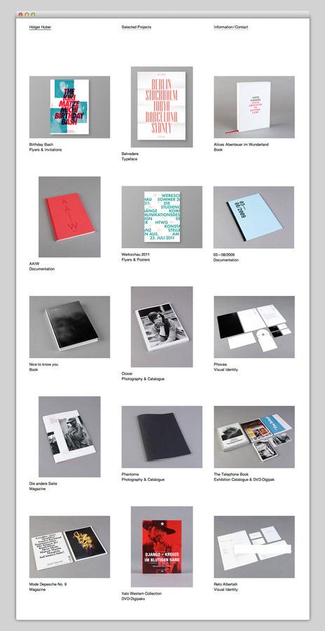 Holger Huber (beautiful simplicity) #website #layout #web #portfolio