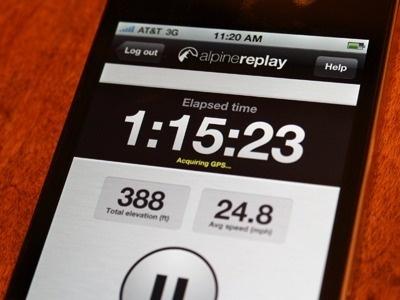 Dribbble - Elapsed time by Tom Haynes #app