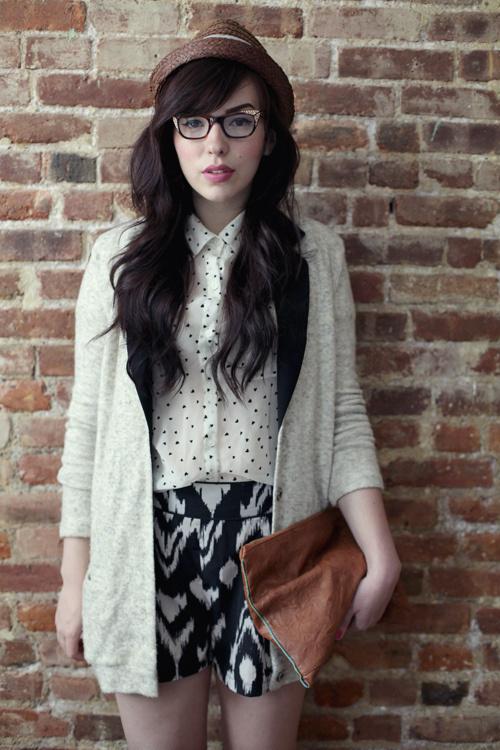 Zoom Photo #glasses #model #woman #hipster #women #femme #female #fatale