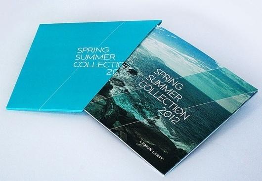Magazine and Editorial Graphic Design Inspiration - MagSpreads: Lemon Light – summer 2012 –catalog