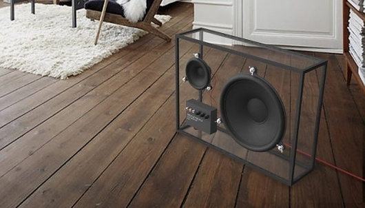 Fancy - Transparent Speaker by People People #speaker #office #industrial #sound #music