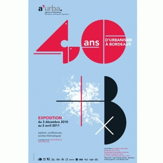 Kubik agence de design Bordeaux #architecture #poster