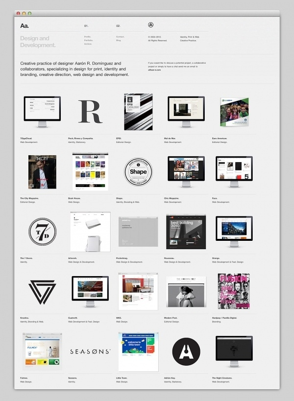 Websites We Love #portfolio #design #website #layout #web