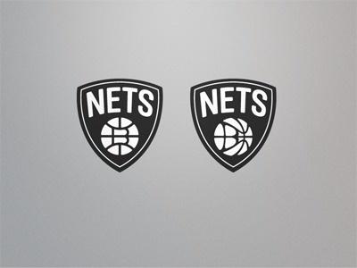 Dribbble - Nets by Fraser Davidson #logo #nets #brooklyn