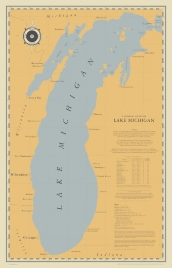 Cabbage Creative #creative #michigan #design #graphic #map #cabbage #studio #lake