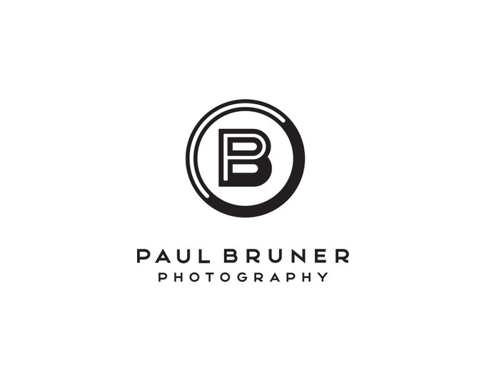 Paul Bruner Photography logo, by Mike Bruner #logo #bruner #photographer