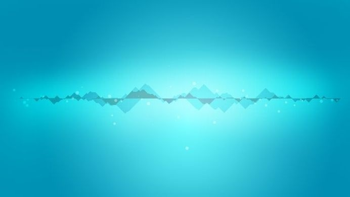 mountains & streams #water #pulse #sound #blue #stream