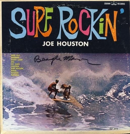 All sizes | Joe Houston - Surf Rockin' | Flickr - Photo Sharing! #album #record #cover #1960s #illustration #artwork