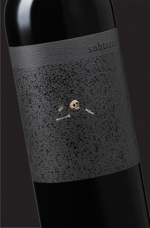 Subterra ~ Wine Label Design ~ Sonoma ~ Auston Design Group