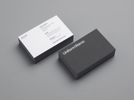 uw_011.jpg (1000×750) #white #business #black #minimal #cards