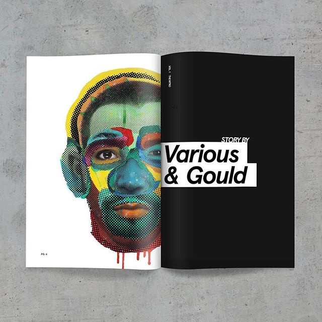 #magazine #print #spread #mockup #layout #publication