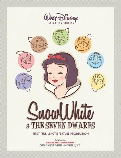 Retro Snow White Poster | Flickr: Intercambio de fotos #white #snow