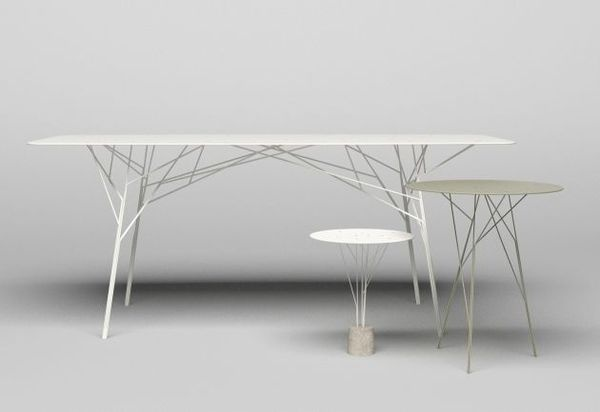 Furniture Shrub Tables Skeletal #interior #design #decor #home #furniture #architecture