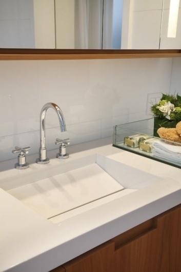 House in Brazil by Progetto   Design Milk #sink #minimal #drain
