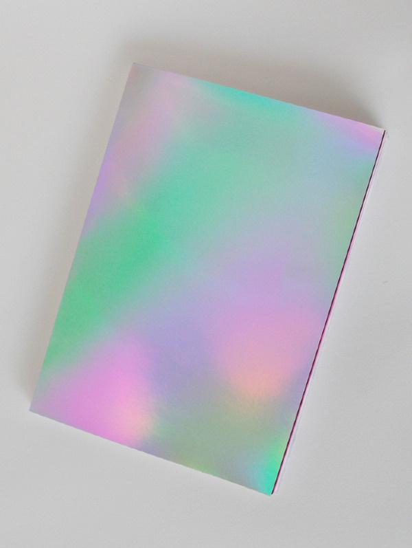 CAVITY ZINE JENNIFER MEHIGAN #design #art #publication #paint #magazine #gradient #zine #colour