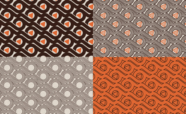 BELLROY Jimmy Gleeson Design #pattern #identity #branding