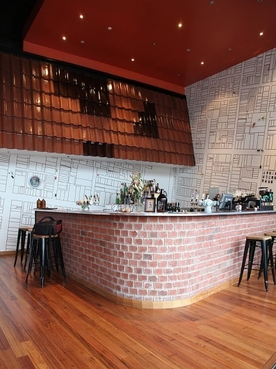 Common Man - Restaurant on the Behance Network #interior #cafe #restaurant