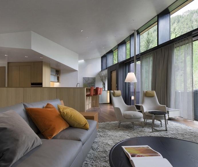 Blackbird House – Urban Mountain Retreat by Will Bruder Architects