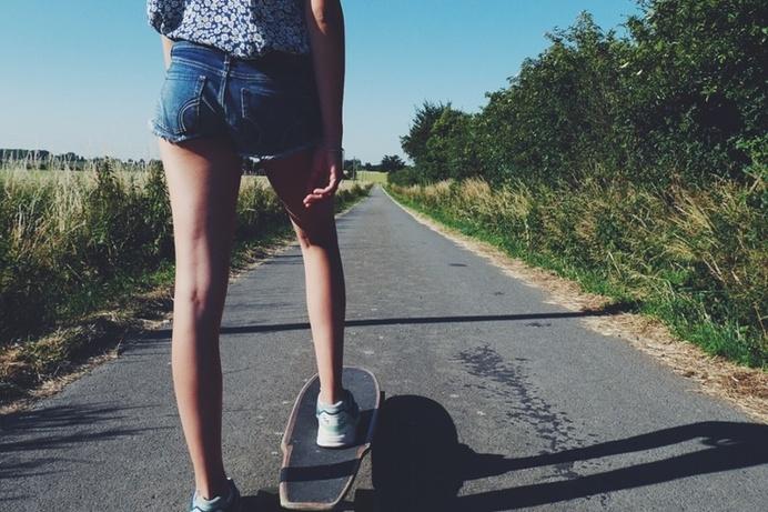 #skate #longboard #summer #holiday #france #brotherhood #countryside #folk #young #sport